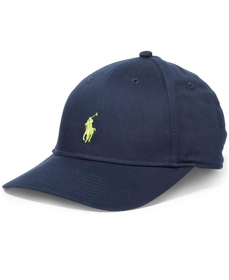 Polo Ralph Lauren Men s Big   Tall Baseline Hat  422a9553b62