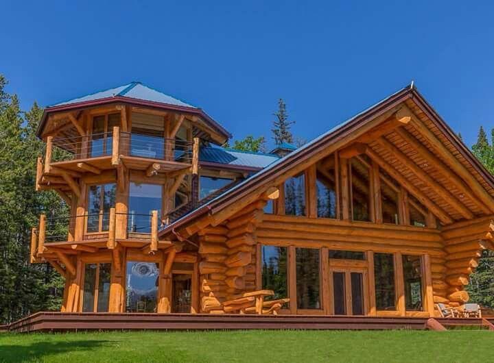 Holzhaus Inneneinrichtung pinquentin bales on log cabins   haus, holzhaus, inneneinrichtung
