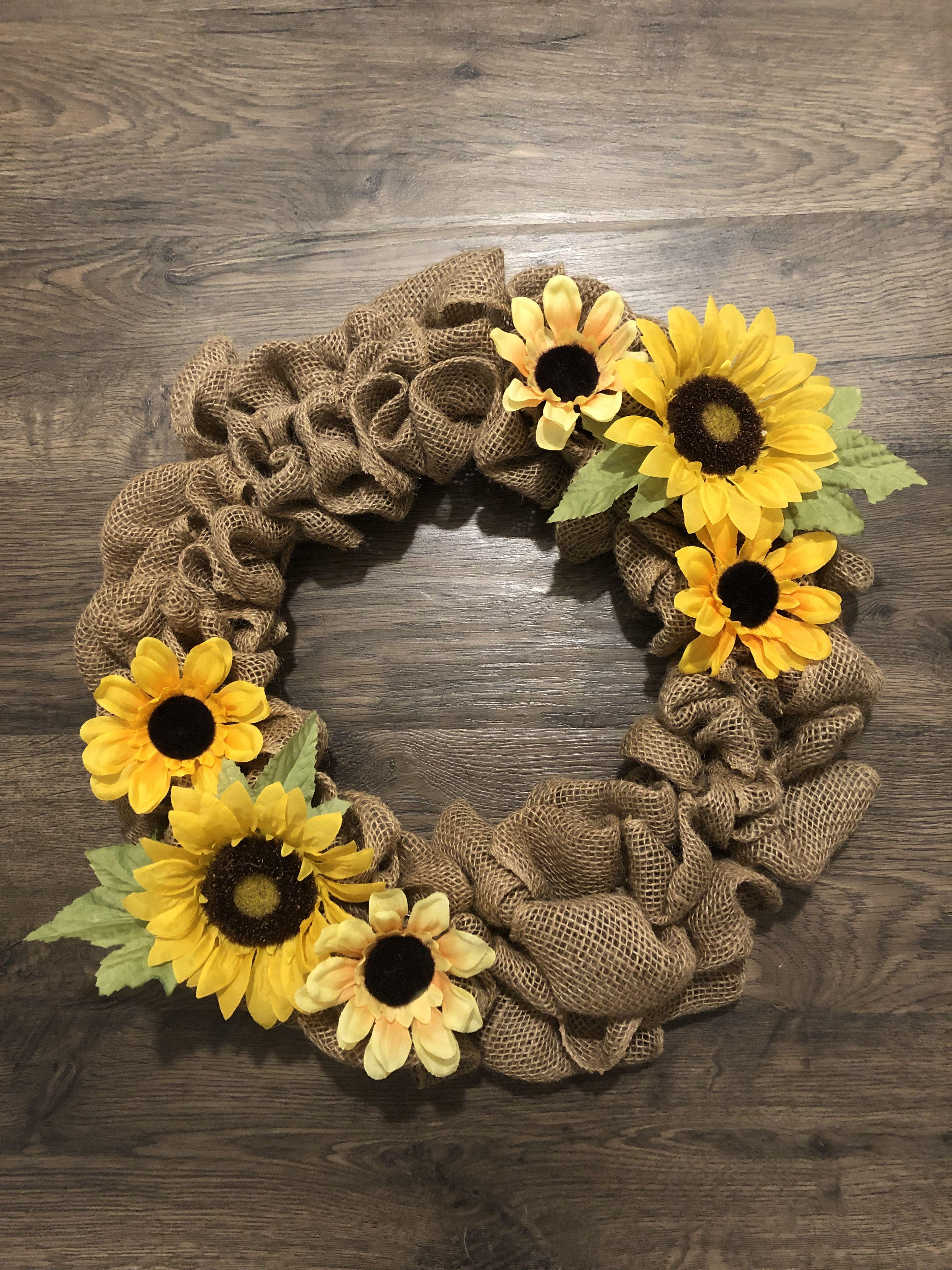 Photo of 2019 Sunflower wreath