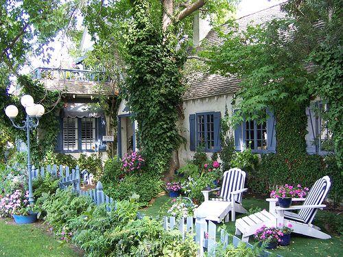 cottage garden casas e flores pinterest g rten. Black Bedroom Furniture Sets. Home Design Ideas