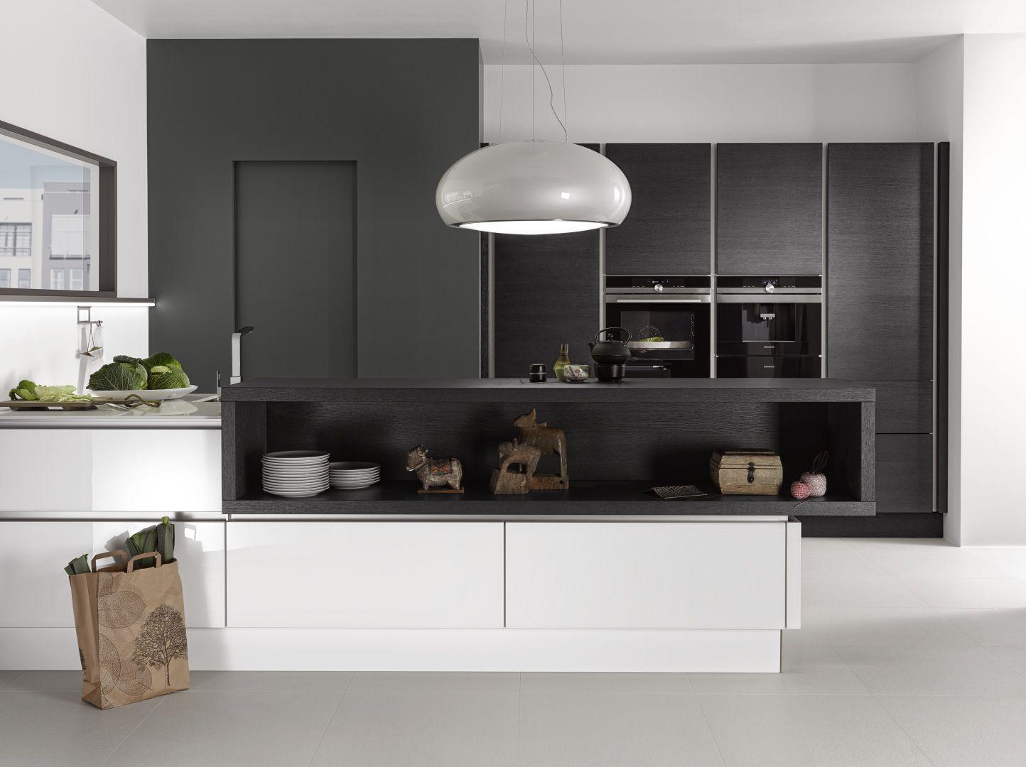 Schön Nolte Küchenplaner Beste Wahl Veneer And White Gloss Kitchen.