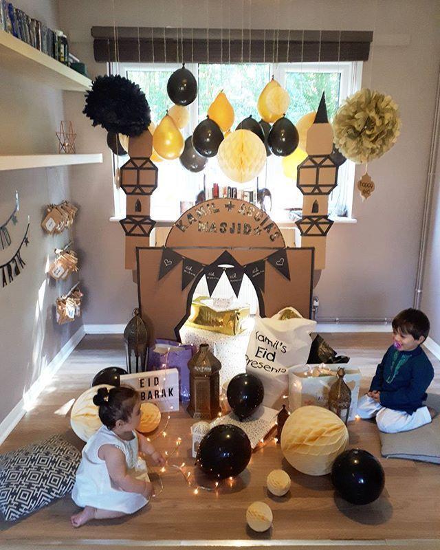 20 Wonderful Eid Mubarak Ideas: Eid Corner, My 1st Masjid, Eid Decorations, Ramadan Decor