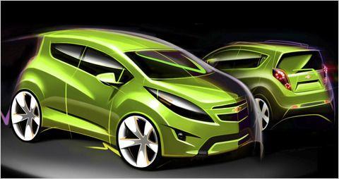 Chevrolet Spark Concept Chevrolet Spark Chevrolet Car
