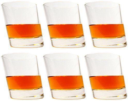 idea-station Pisa Verres à whisky 6 pièces, max 280 ml transparent