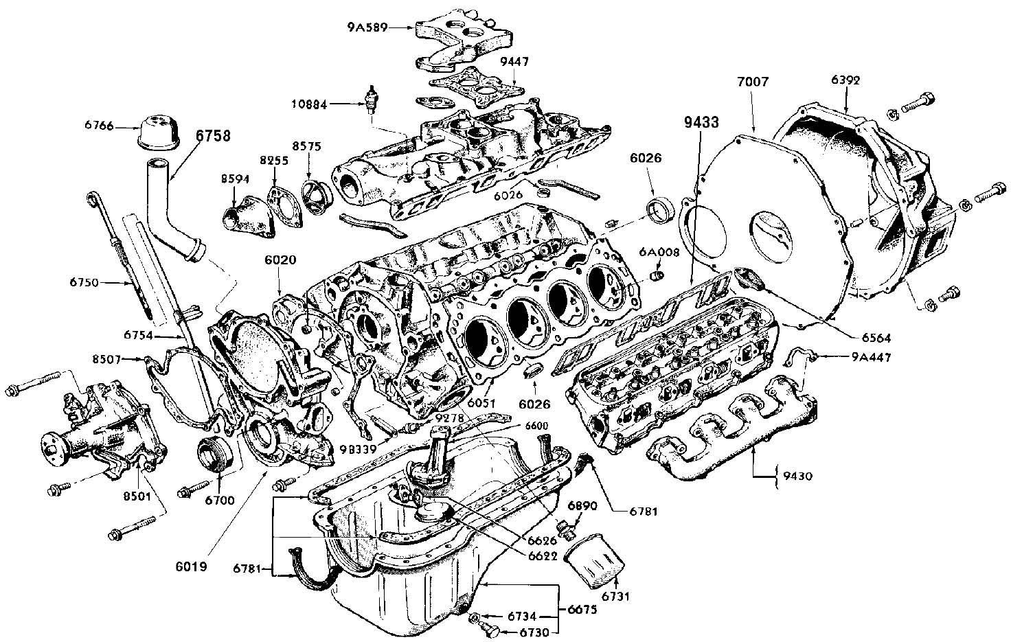 Internal Combustion Engine Diagram Ford 289