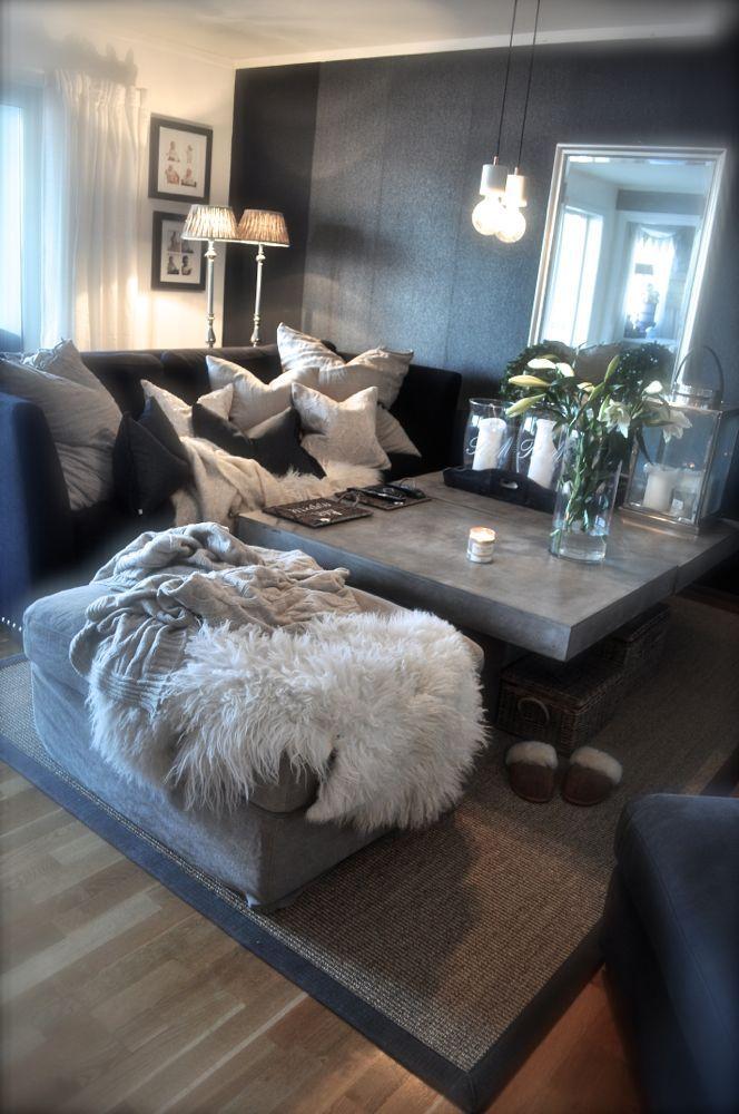 Apartment Living Room, Silver Living Room Ideas