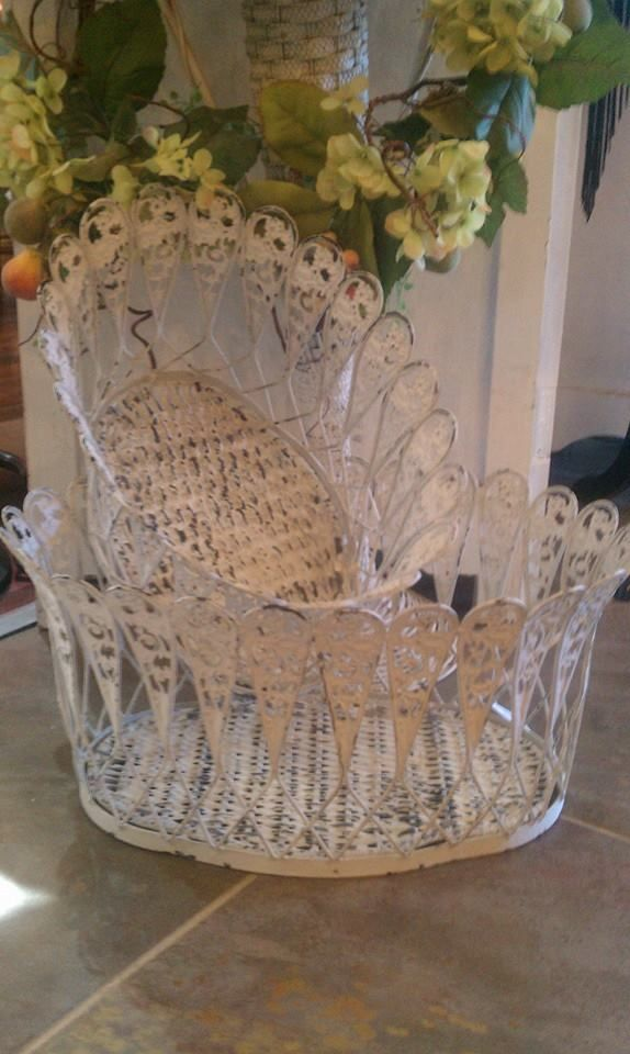 Vintage French Baskets  The Lion's Lair 2712 SW 6th Street Amarillo, TX 79106 806.640.7825