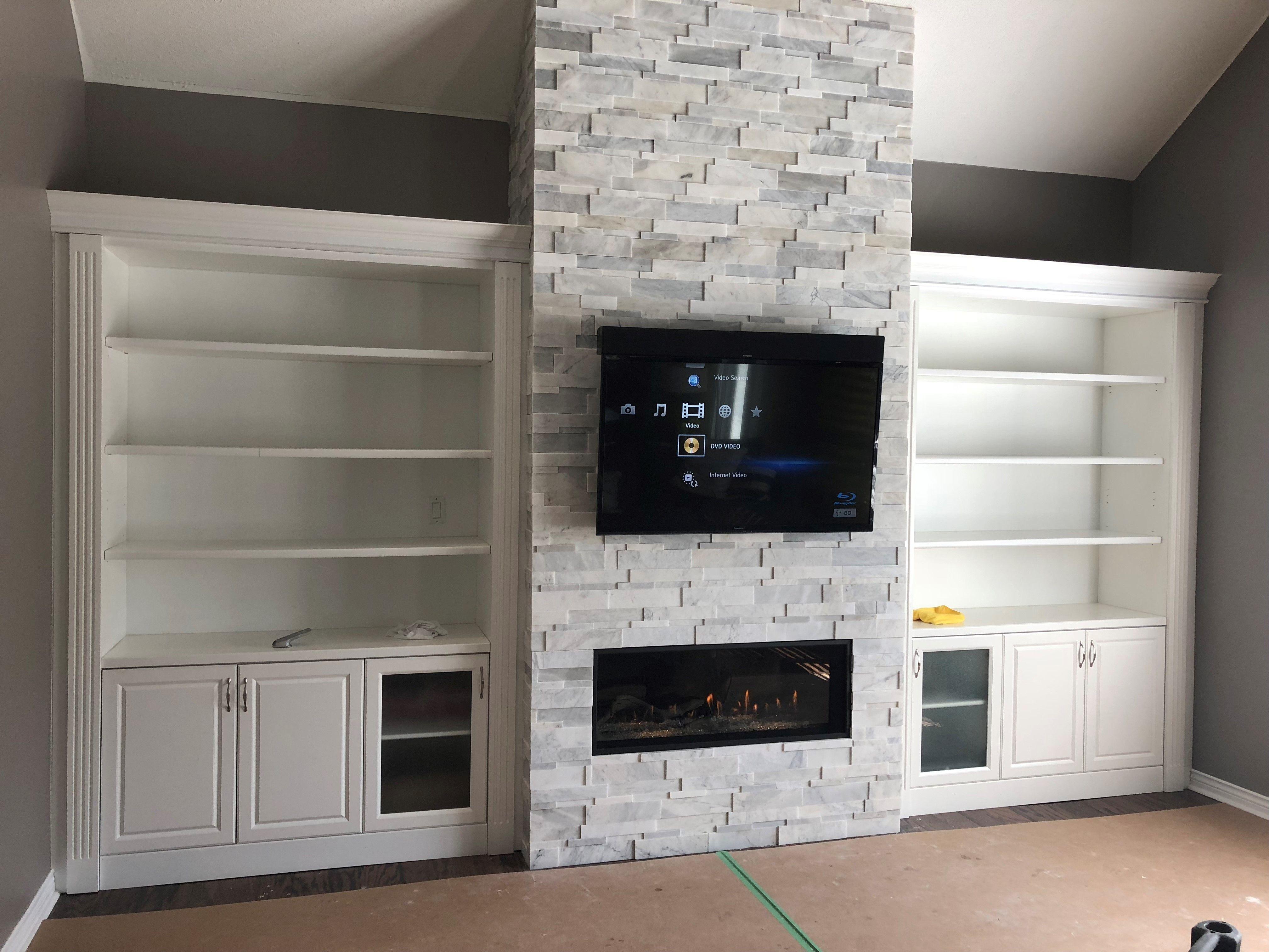 Fireplace Projects Fireplace, Reface fireplace
