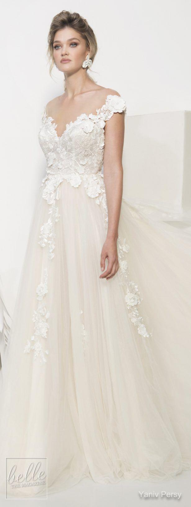yaniv persy wedding dresses spring 2019 bridal collection