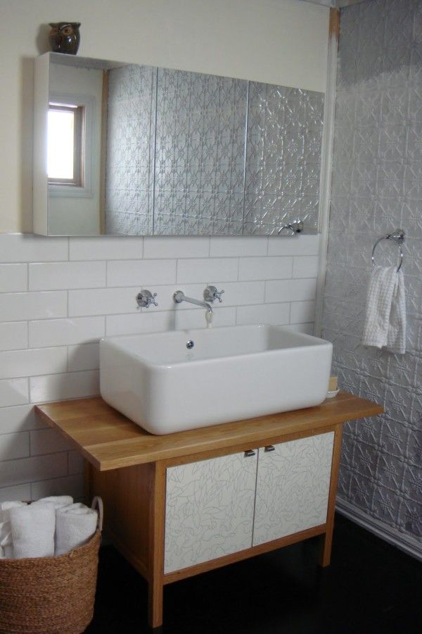 Stand Alone Bathroom Sink Units