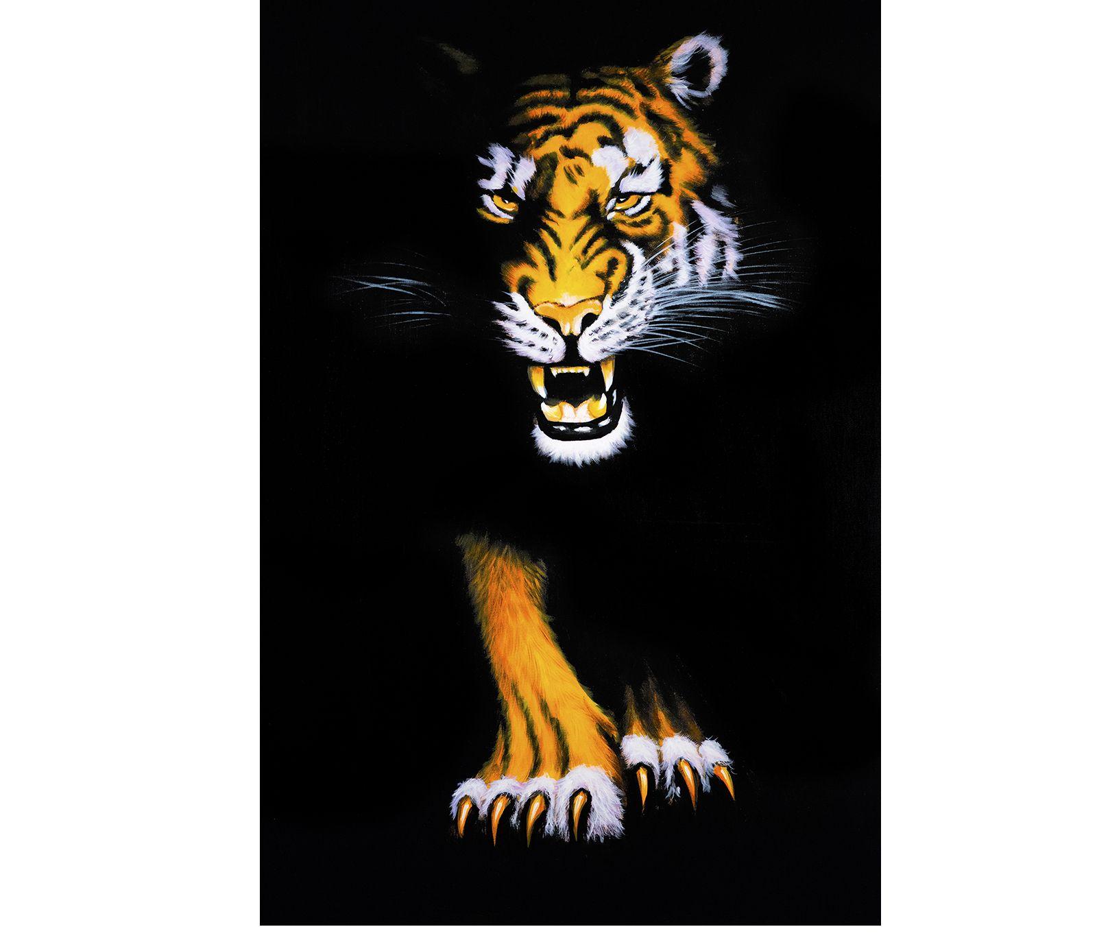 Canvas art prints modern wall art canvas prints tiger