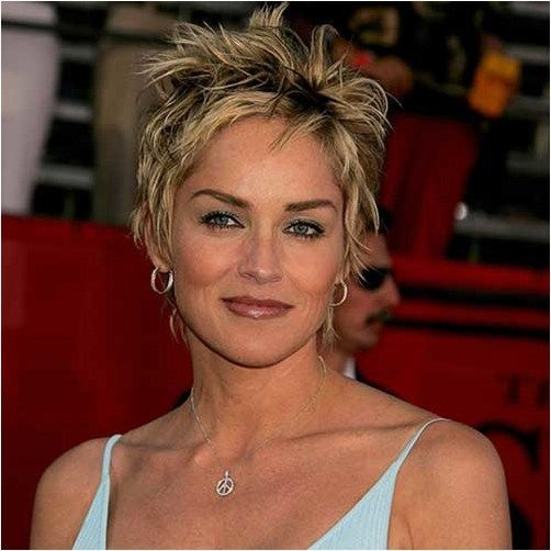 Sharon Stone Frisuren Fotos