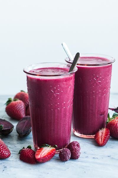 Bashful's Blushing Berry Beet Smoothie | Babble