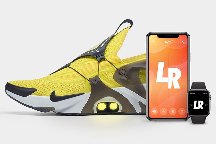Nike Adapt Huarache Customizes its Fit with Just an App