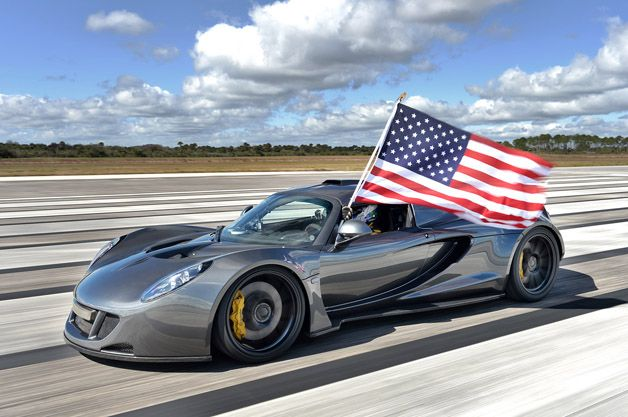 Hennessey Venom Gt Is World S Fastest Car At 270 49 Mph W Video