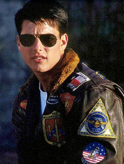Tom Cruise Pete Maverick Top Gun Flight Bomber Jacket,top ...