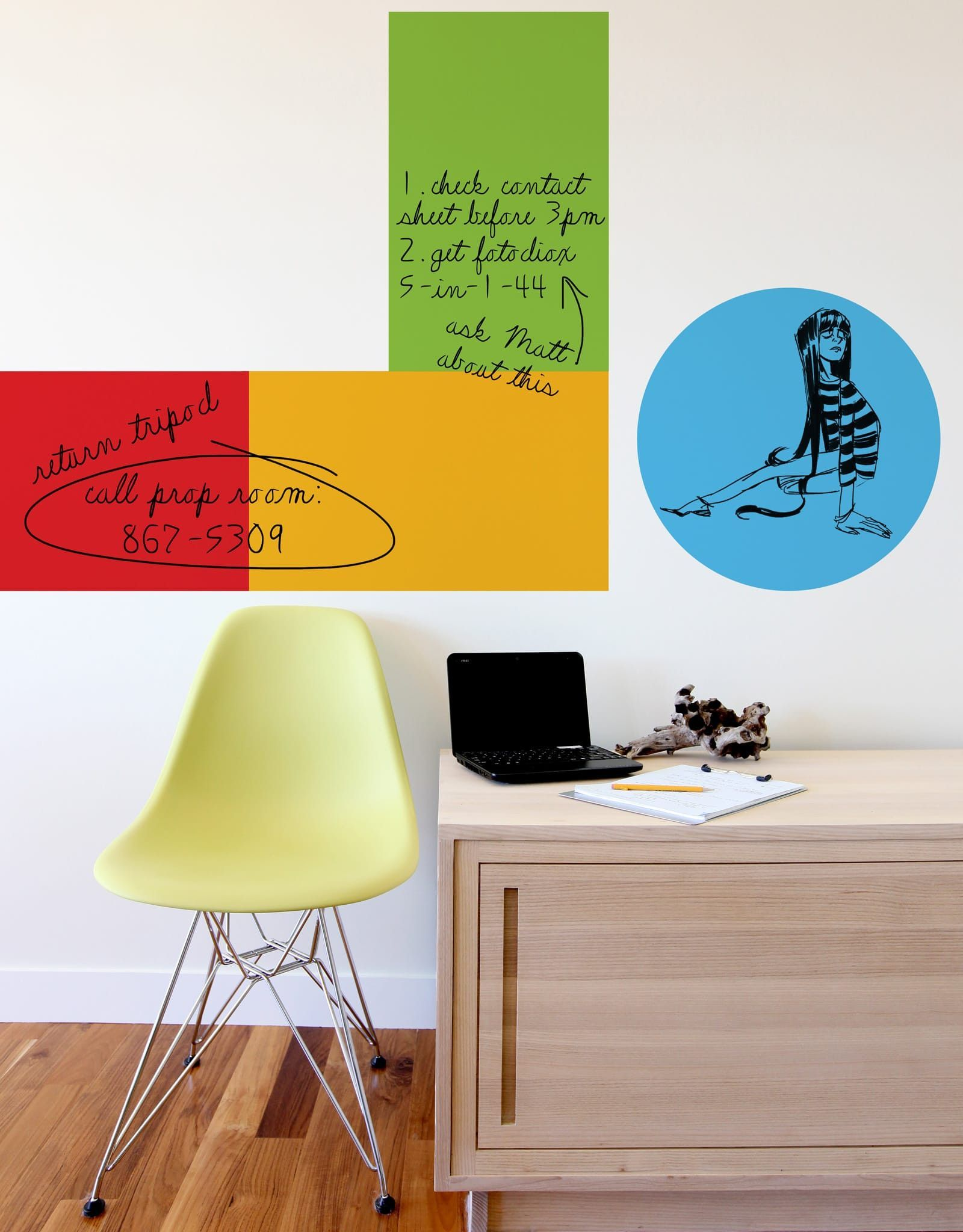 The Not Whiteboard | Whiteboard, Dry erase wall and Wall decals