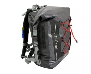 Lightweight and 100% waterproof 30 litre Black Overboard Carbon ...