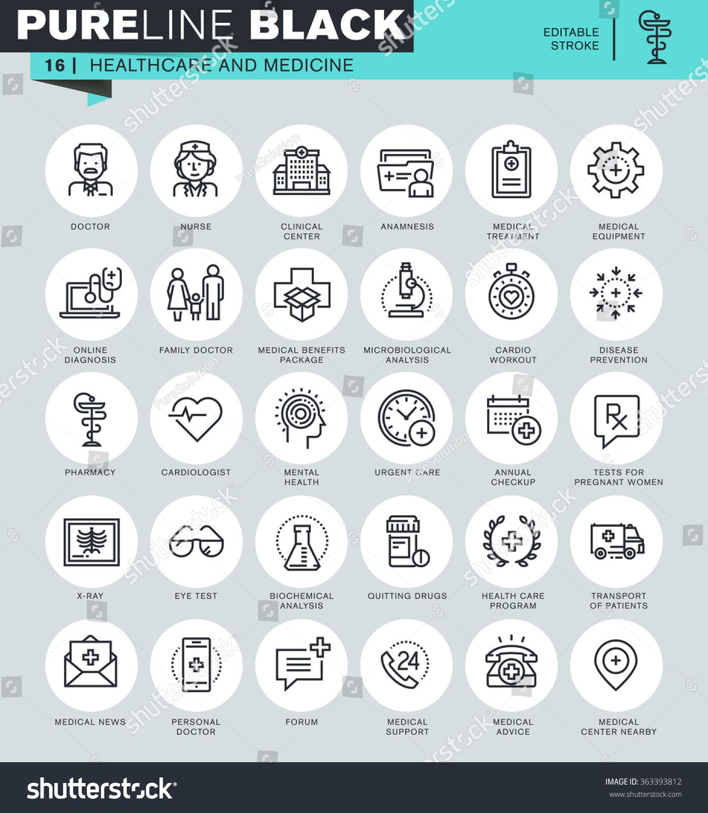 Thin Line Icons Set Of Healthcare And Medicine Hospital Services Laboratory Analyzes Icons For Website And Mobile W Ad Ad Health Care Medicine Line Icon