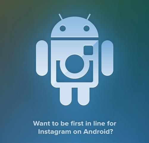 Androiders, Instagrai-vos!