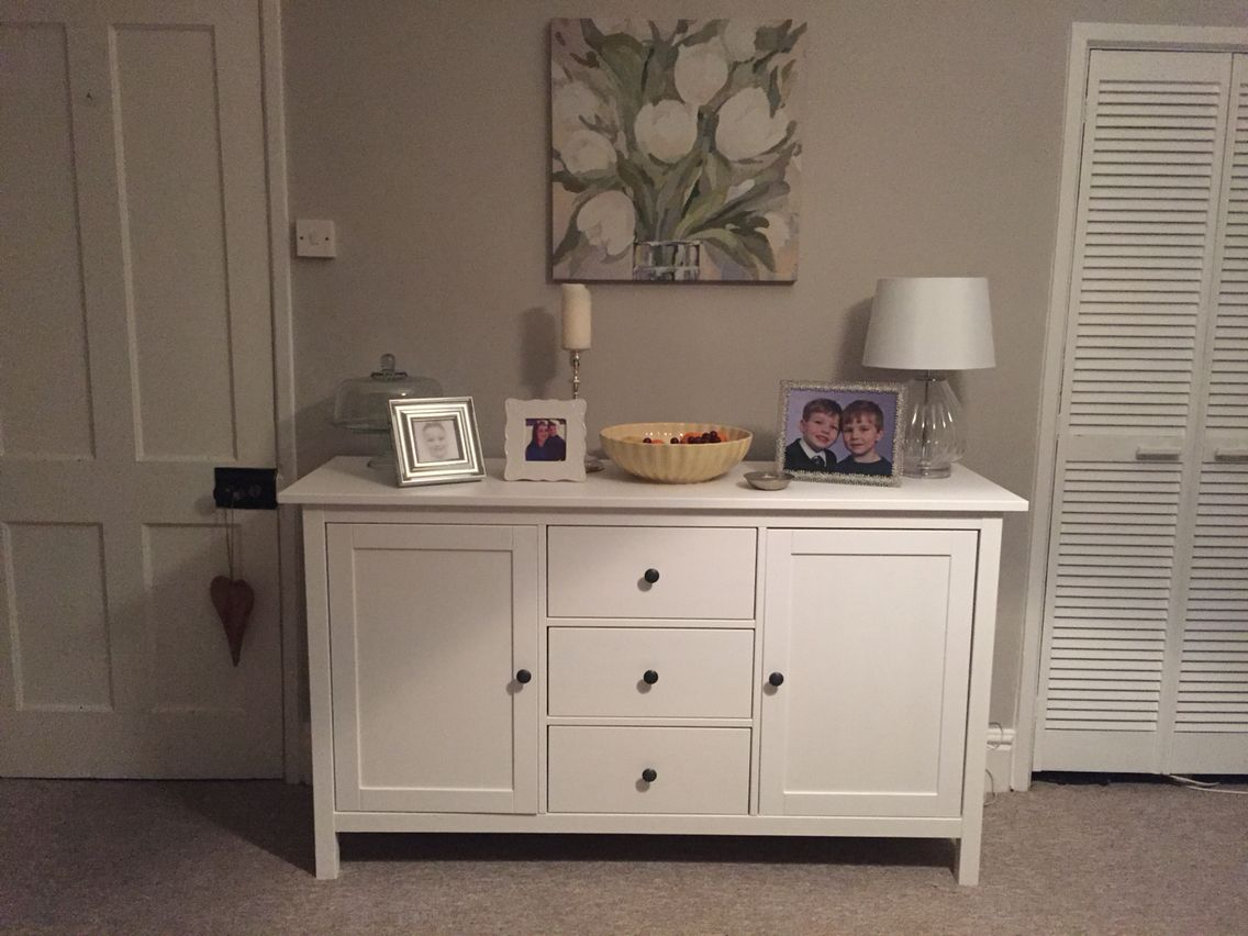 Ikea Küchenbuffet ~ Hemnes sideboard white stain hemnes white stain and solid wood