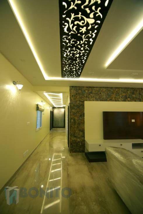 Living Room Passage Area False Ceiling Design Asian Modern Pop Designs Small Red Colors