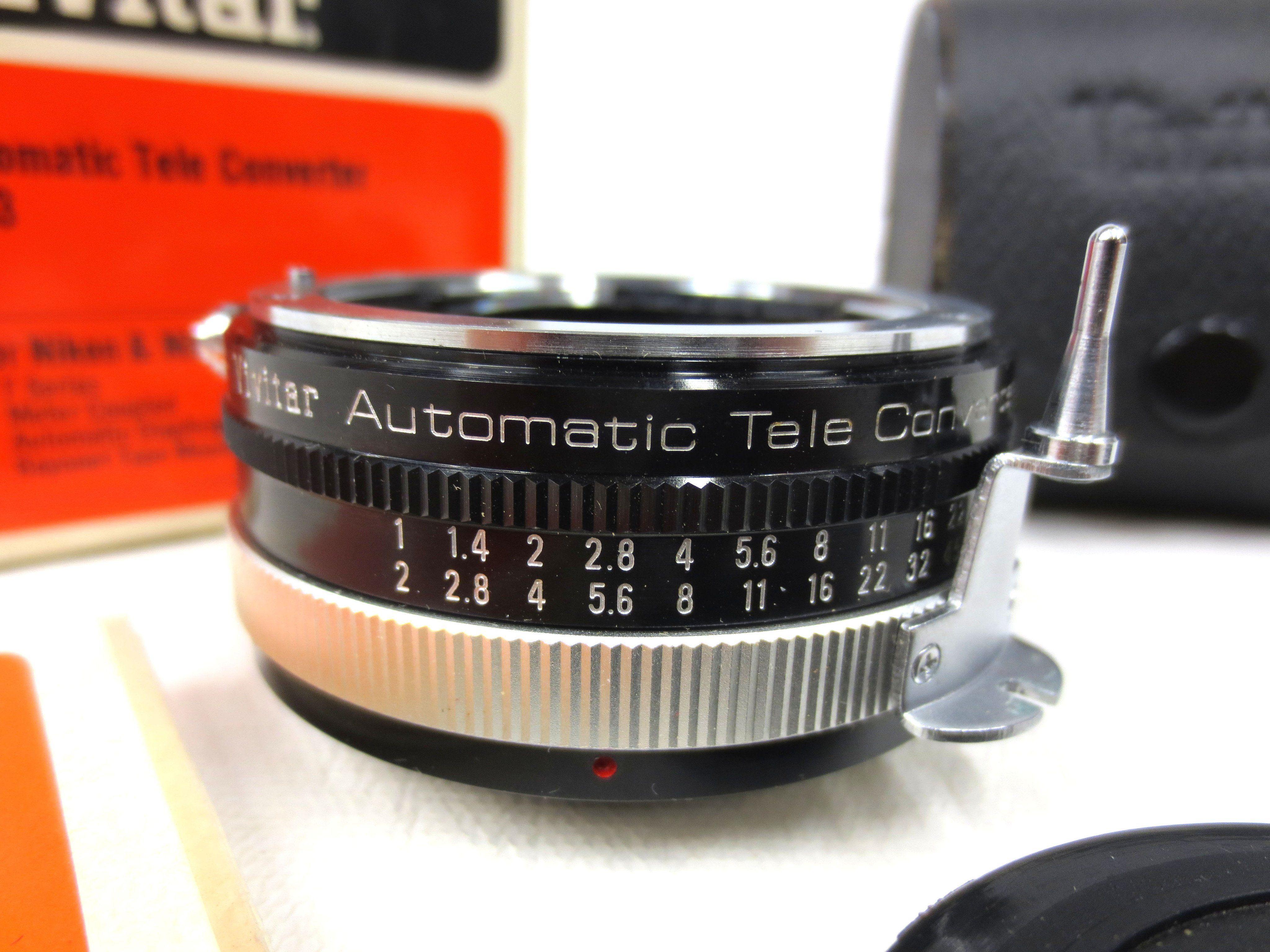 Home Nikon Alte Kamera Cctv Vintage vivitar automatic tele converter nikon nikkormat