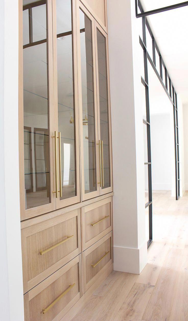 Modern Kitchen Design Rift Sawn White Oak Cabinets With Waterfall Double Island And Black Shipl Modern Kitchen Design White Oak Kitchen Interior Design Kitchen