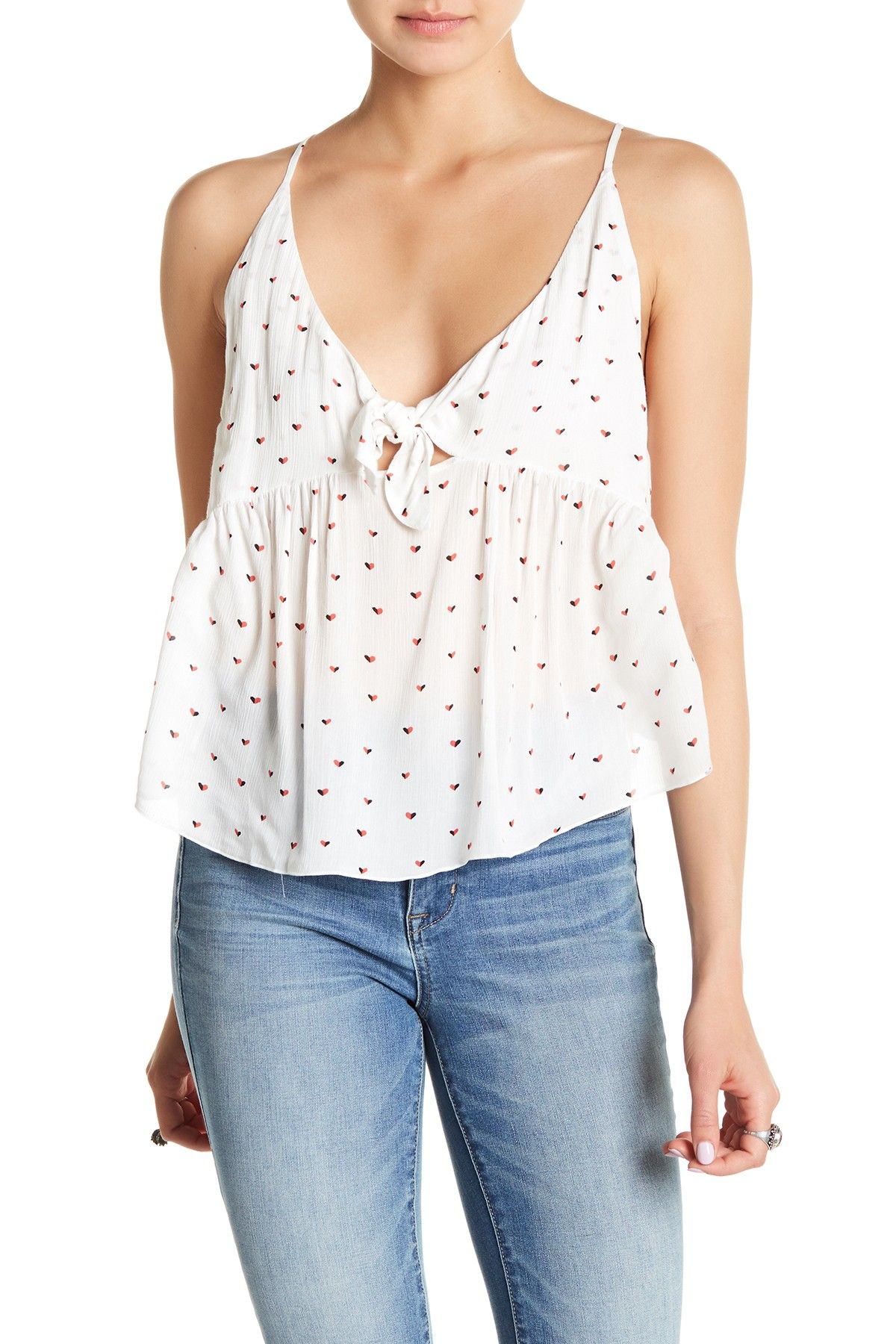 Free People Riviera Romance Cami Clothes Clothes For Women Tops