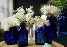 45th Wedding Anniversary Wedding Table Decorations Blue Blue