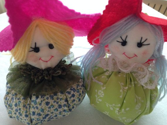Lavender Sachets Doll Pillows Drawer Wall Decor by HobbyJoyDesign, $10.00