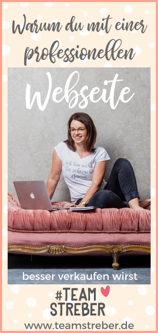 Warum du mit einer professionellen Homepage besser
