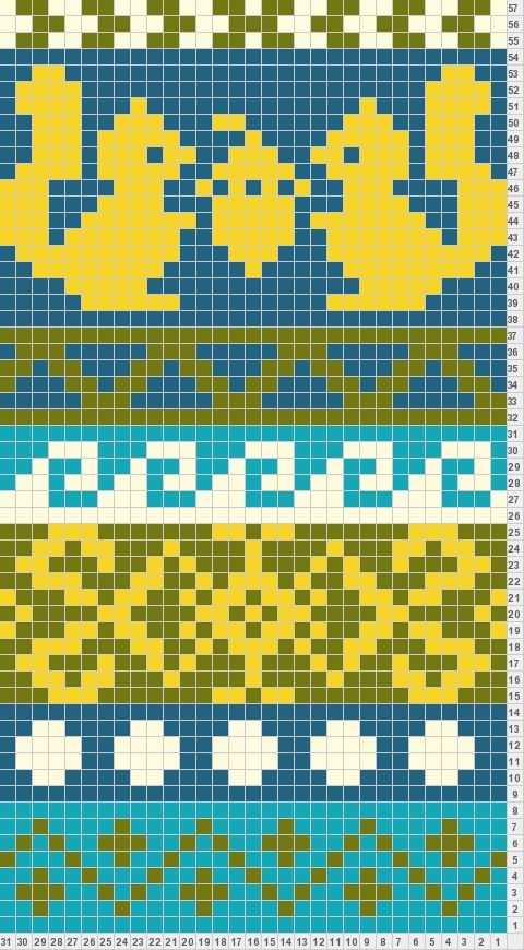 folk scarf motif6 | Alpha Friendship Bracelets | Pinterest | Folk ...