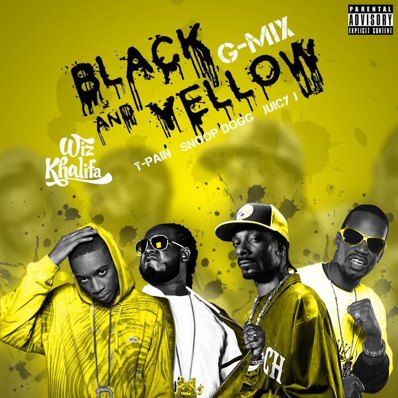 cb6e22ed0998 Black and Yellow G-Mix by SBM832 on DeviantArt Wiz Khalifa