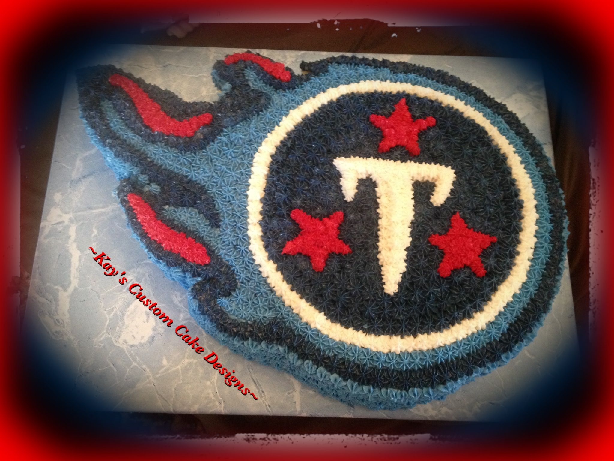 Tennessee Titans Grooms Cake