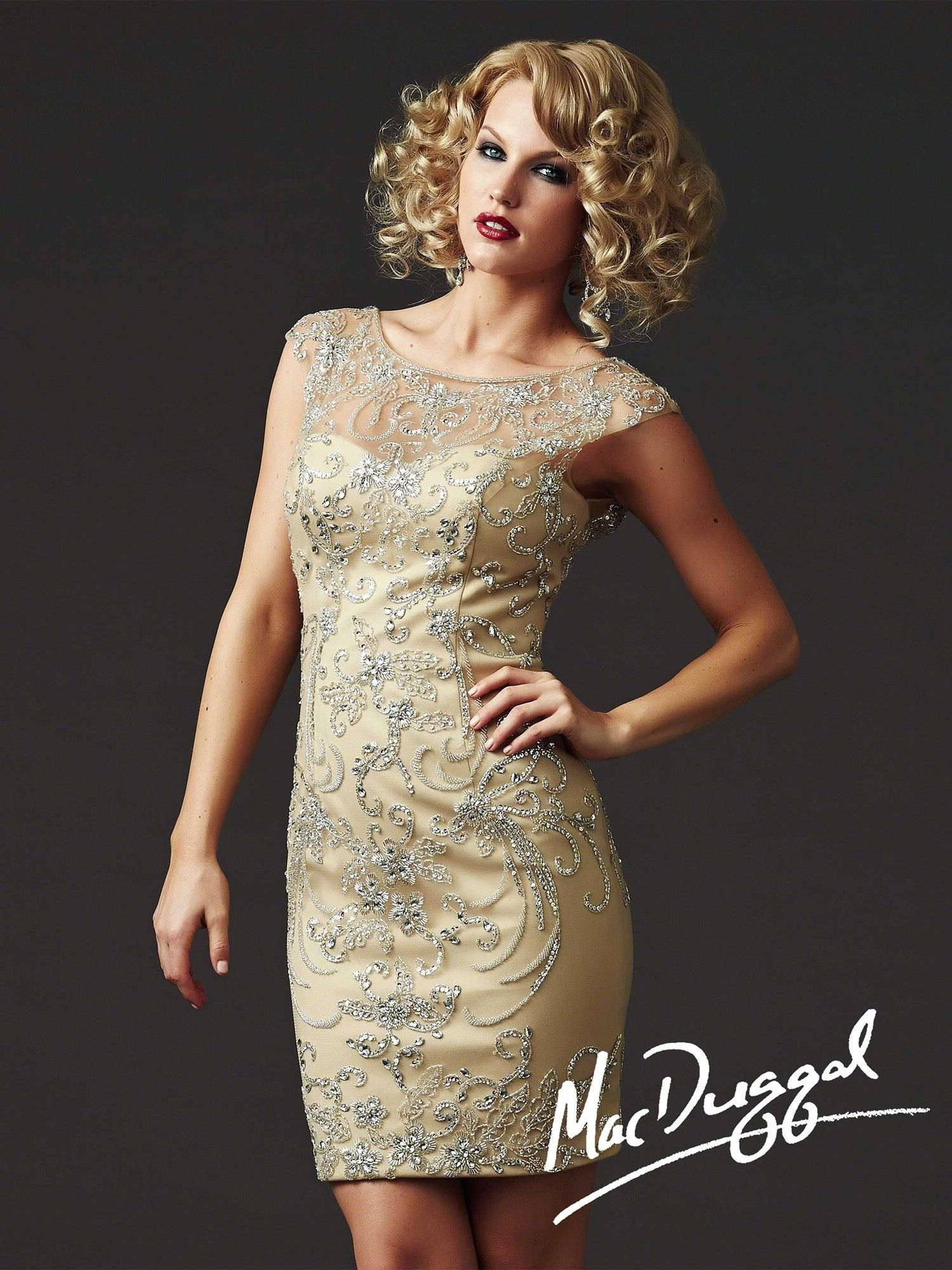 Mac Duggal Couture - Style 61444D $260.99 Mac Duggal Couture