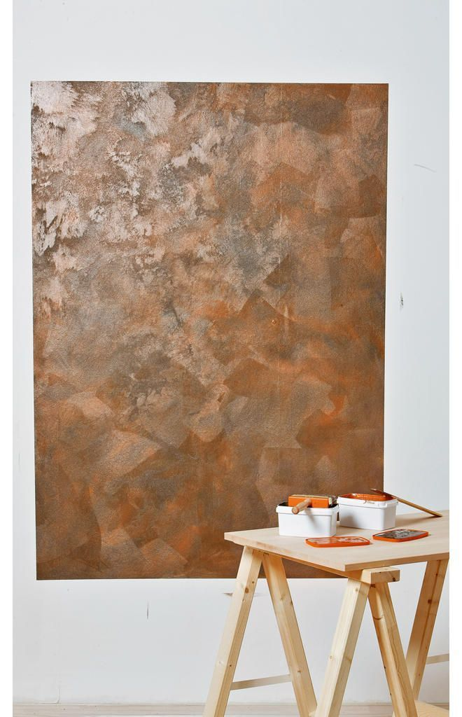 Wandgestaltung In Rost Optik Schoner Wohnen Farbe Schimmernde Oberflachen Schoner Wohnen Farbe Schoner Wohnen Wandgestaltung