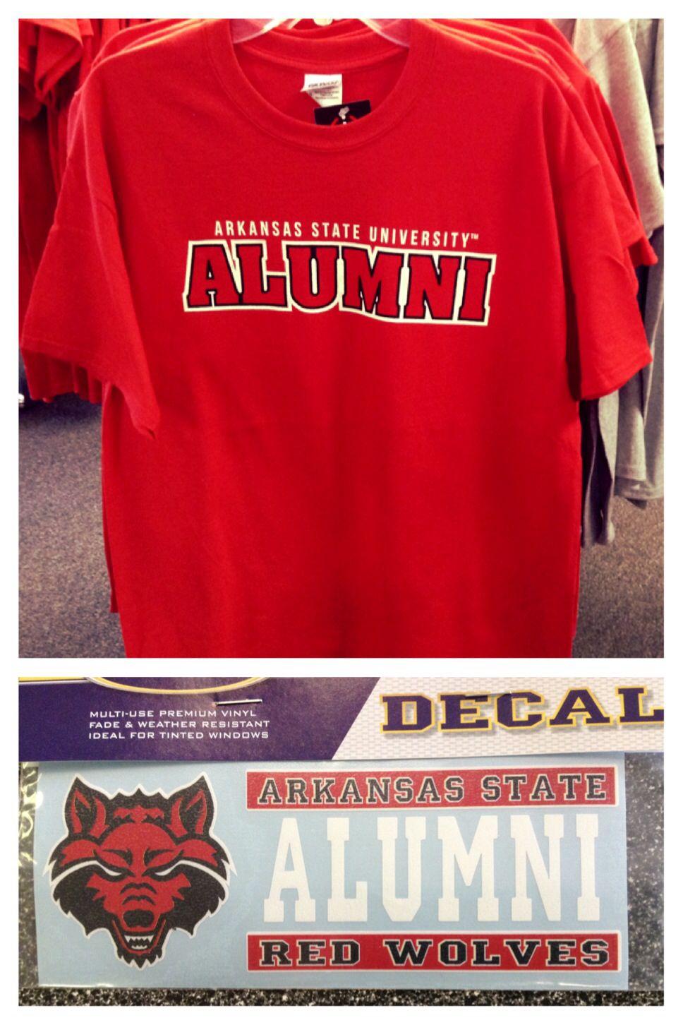 T shirt design jonesboro ar - Arkansas State University Alumni Tee Decal