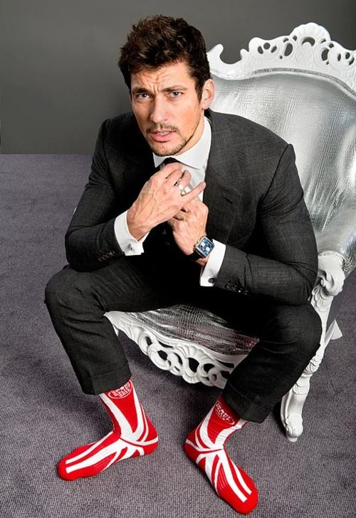 David Gandy for SportsRelief - love it when he's silly