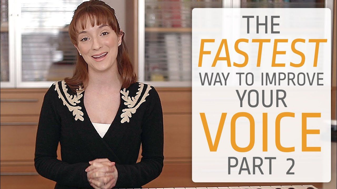 The fastest way to improve your singing voice Part II