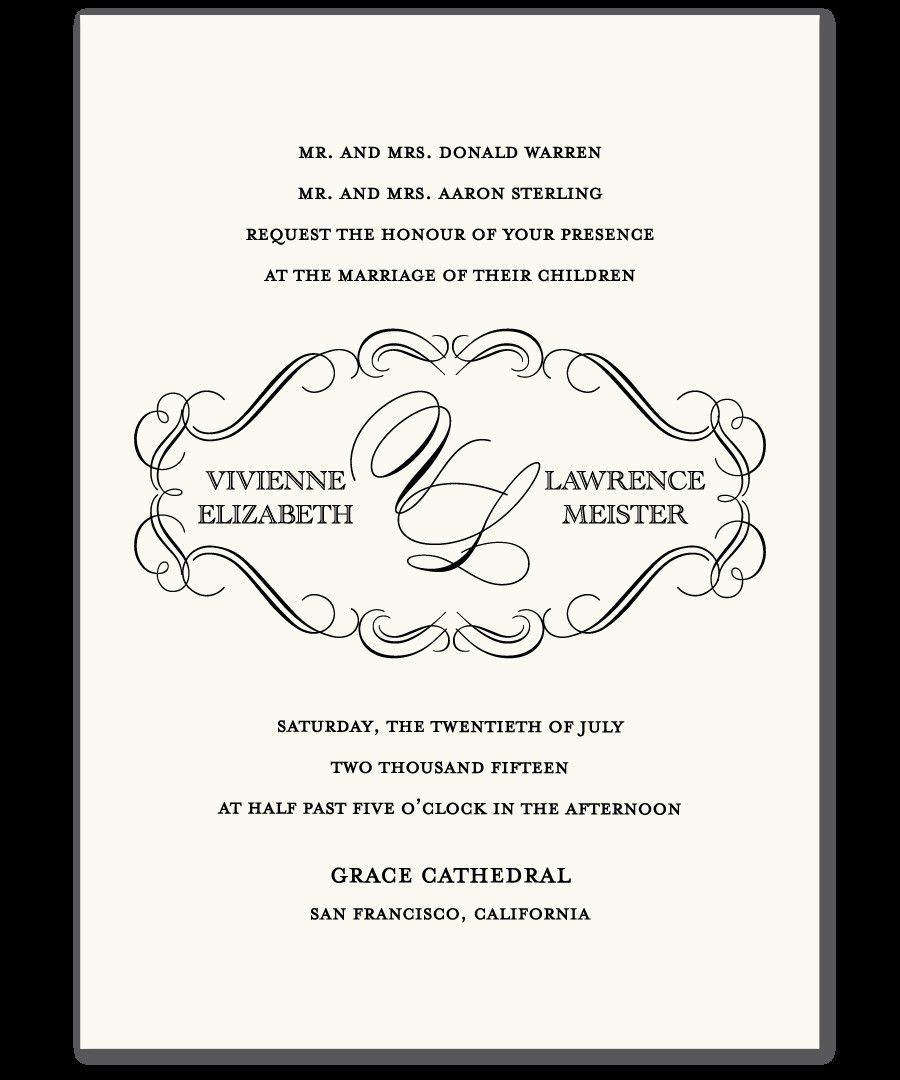 Christian Wedding Invitations Templates InviteTown I said YES