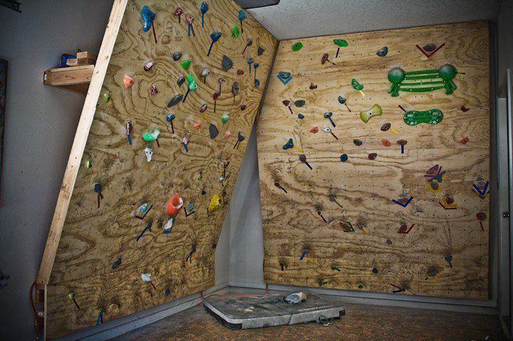 basement climbing wall for kids google search climb it rh pinterest com Basement Accent Wall basement climbing wall plans