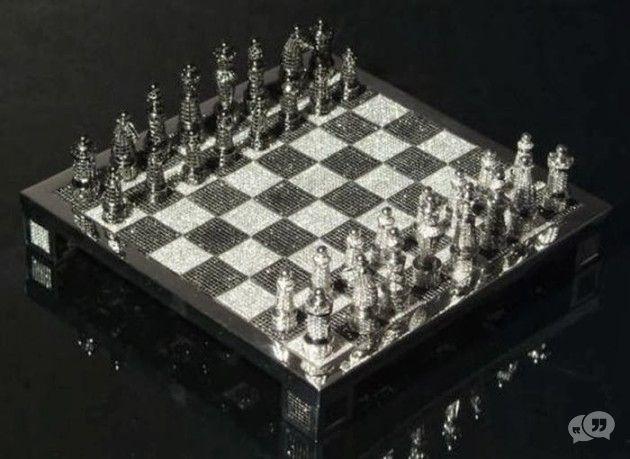 Diamanten schaakspel voor 9,8 miljoen dollar