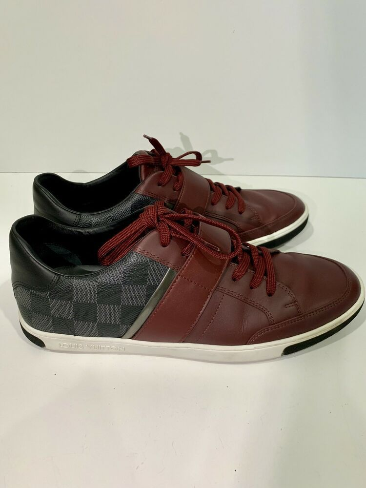 67a44258f0c AUTH LOUIS VUITTON MENS SHOES SNEAKERS UK 7 #fashion #clothing ...