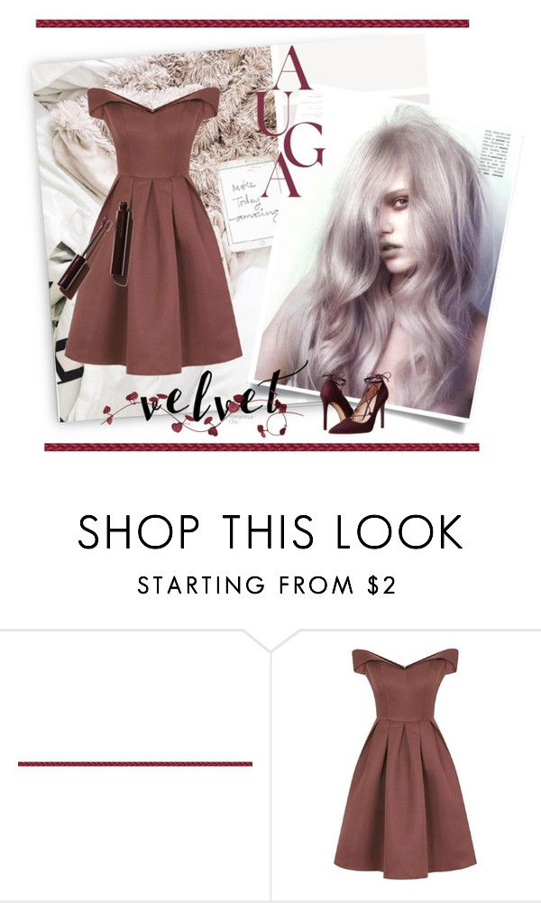 """~ Bardot ~"" by romantiquechic ❤ liked on Polyvore featuring Chi Chi and Massimo Matteo"