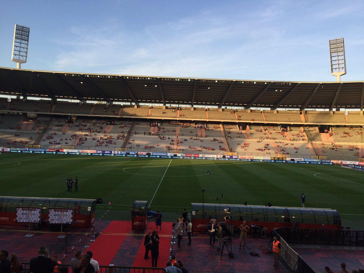 Stade Roi Bauduin, Heysel, Bruselas, Bélgica. Capacidad 50.100 espectadores, Equipo local Selección Bélgica.