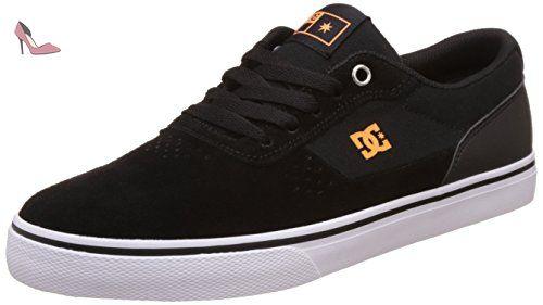 DC Notch Low Top Chaussures pour hommes, EUR: 42, Black/White