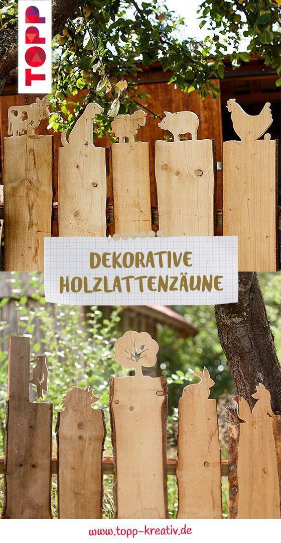 Dekorative Holzlattenzune - DIY Deko fr Zuhause - #Deko #Dekorative #DIY #fr #Holzlattenzune #Zuhaus...