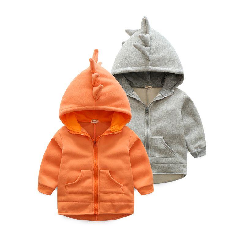 baf0f47e9361 Click to Buy    children s clothing boys girls Dinosaur Hoodie ...