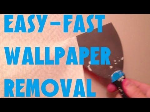 Easiest Fastest Way To Remove Wallpaper Guaranteed Removable Wallpaper Removing Old Wallpaper Old Wallpaper